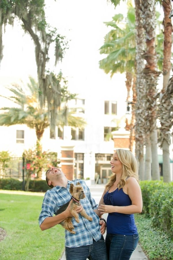 Outdoor Tampa Engagement by Andi Diamond Photography » KnotsVilla