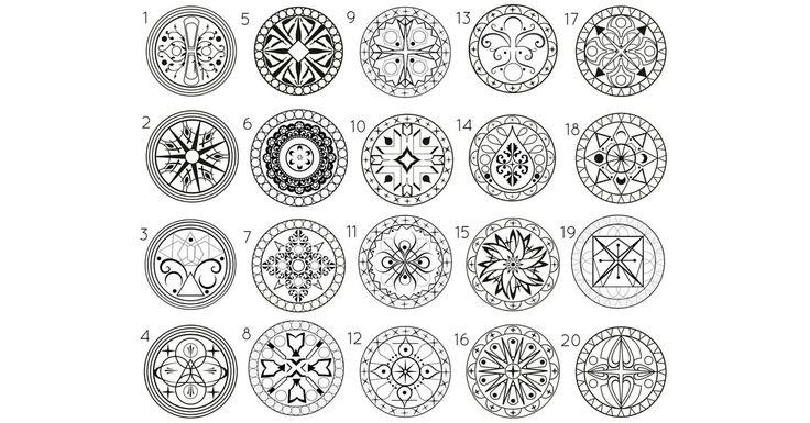 Il mandala è un simbolo spirituale e rituale che rappresenta l'universo. Vengono utilizzati per facilitare la meditazione e favorire i processi di guarigione.