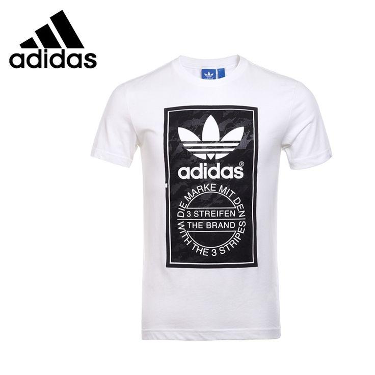 Original de la nueva llegada 2016 Adidas Originals hombres de las camisetas de manga corta de deporte envío libre