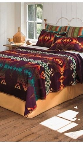 I WILL have this overly expensive Pendleton blanket for my room! I love it!