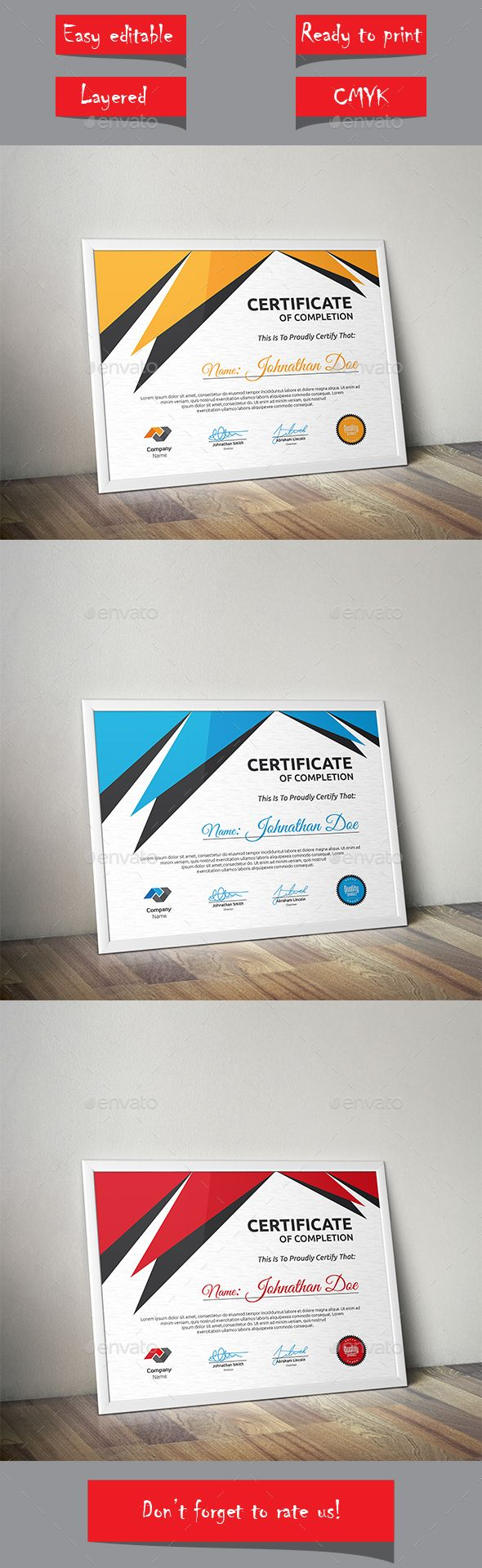Certificate Template Vector EPS. Download here: http://graphicriver.net/item/certificate/13857659?ref=ksioks