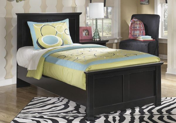 Ashley S Black Twin Bed Frame For Sale In West Covina Ca Furniture Panel Bed Mattress Furniture