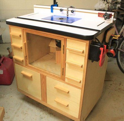 403 best workshop routers tables jigs images on pinterest another nyw router table greentooth Gallery