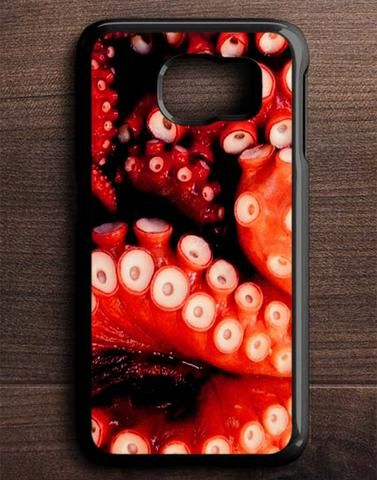 Red Tentacles Samsung Galaxy S6 Edge Case