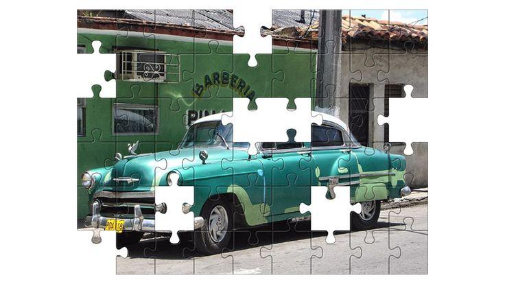 Free Jigsaw Puzzle Online - VINTAGE CAR  #Game #JigsawPuzzle #Puzzle #freepuzzle