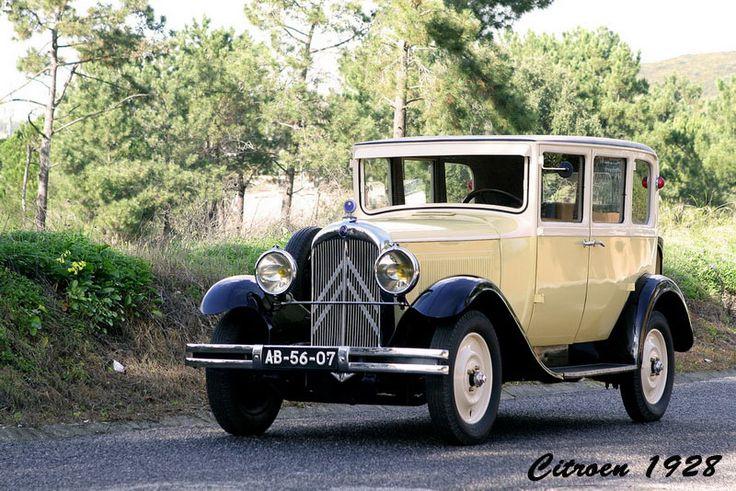 "Citroen 1928, modelo AC4, ""Rosalie""."