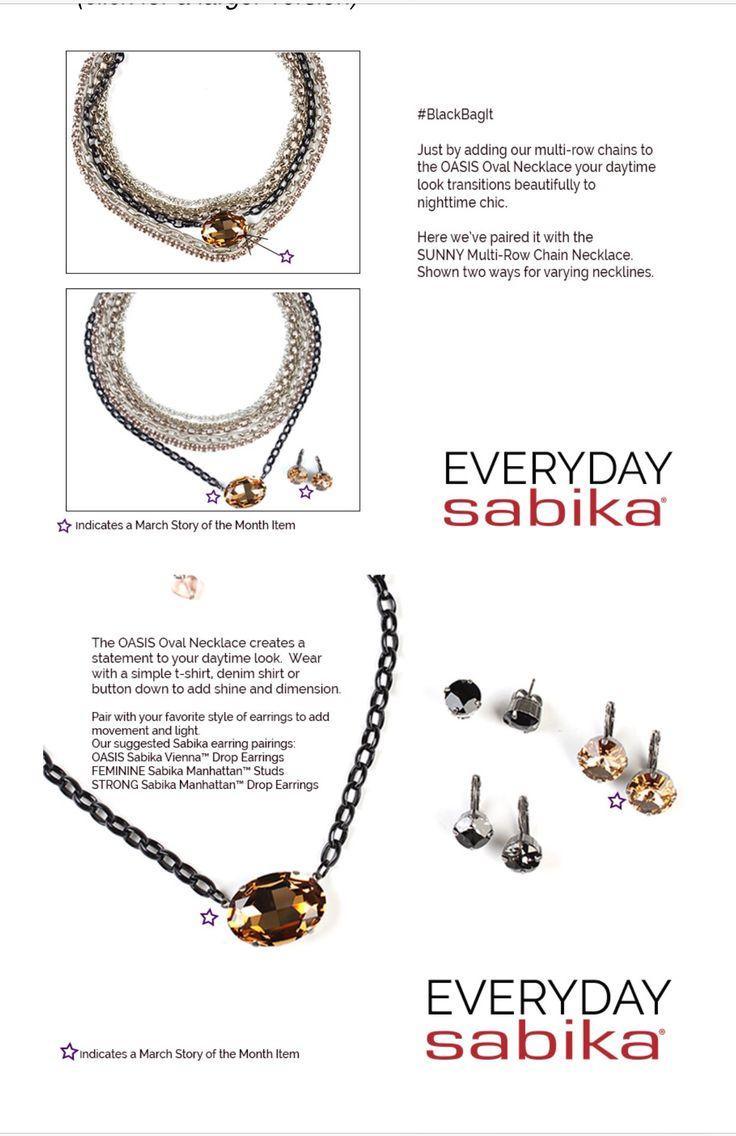 Sabika look necklace - Sabika Oasis Oasisnecklaces