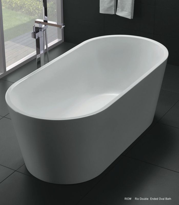 Newtech - Rio double ended oval bath