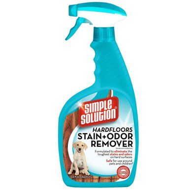 Bramton Simple Solution Hard Floors Stain And Odor Remover Excess Waste 32oz