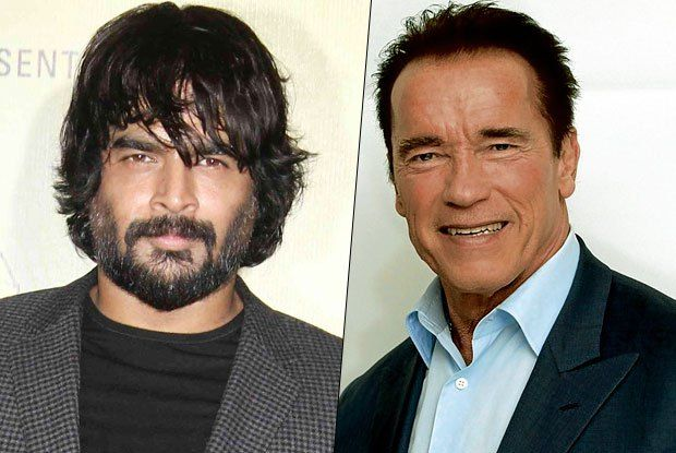 When R. Madhavan came close to Arnold Schwarzenegger's biceps size - Cine Newz