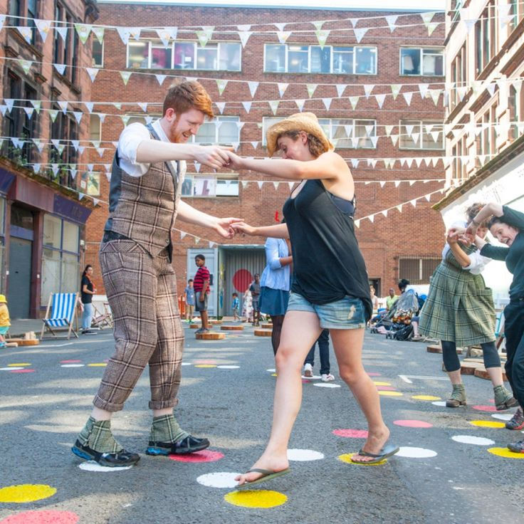 Game designer Holly Gramazio explains how she helped create Scotch Hoppers for Glasgow 2014.People still love to play on the street – but sometimes it takes careful design to get them started, as we found out while creating Scotch Hoppers for the Glasgow 2014 Games.