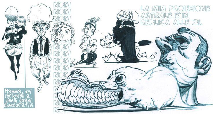 Sketches 5. by dietrock on deviantART