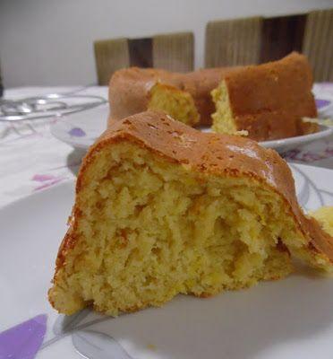 BOLO DIET DE LARANJA - Receitas Culinárias