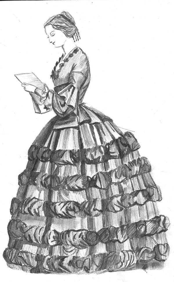 How To Draw Victorian Clothes