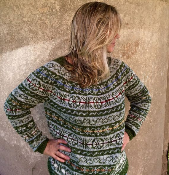 56 best My knittings images on Pinterest | Size 16, Fair isles and ...