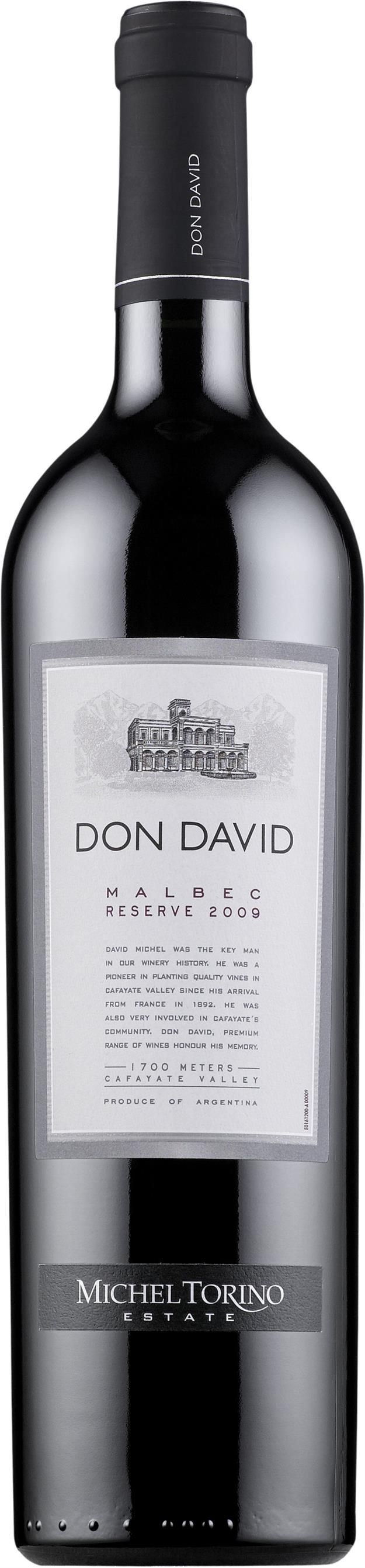 Don David Malbec Reserve 2014. Argentina.  11,90 €. Mehevä ja hilloinen: Täyteläinen, tanniininen, tumman luumuinen, kirsikkahilloinen, tamminen, mausteinen