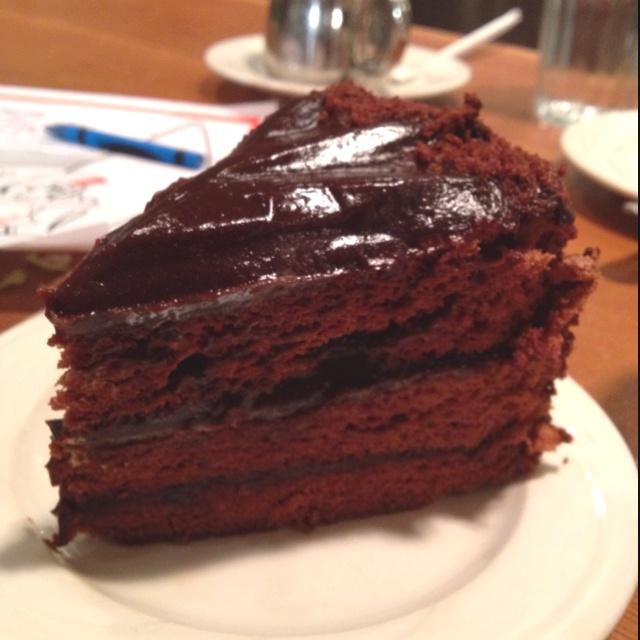 Chocolate Dobash Cake At King S Hawaiian Restaurant