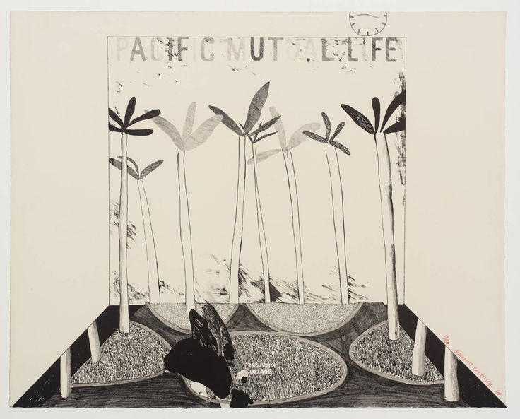 Pacific Mutual Life, David Hockney, 1964