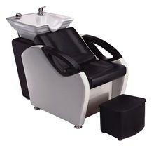 2016 nuevo diseño Semi reclinable el lavado del cabello sillas venta / Hot venta sillas de salón con reposapiés
