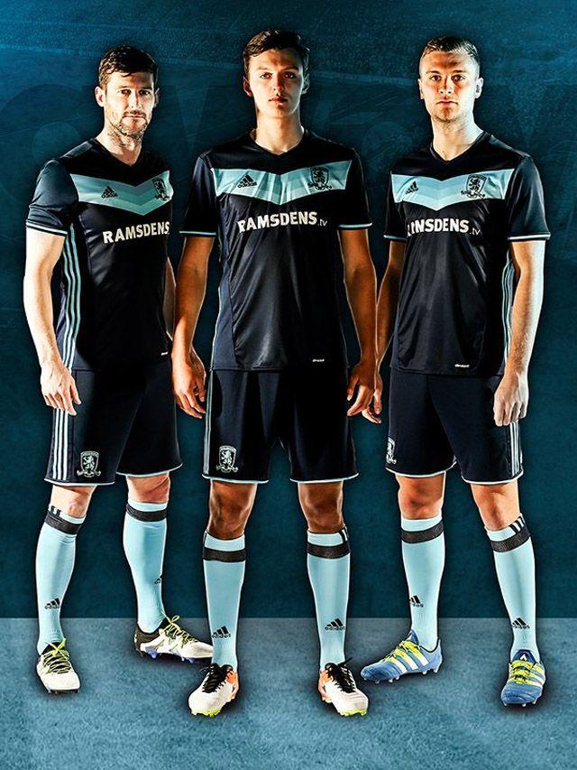 Camisas do Middlesborough FC 2016-2017 Adidas Reserva