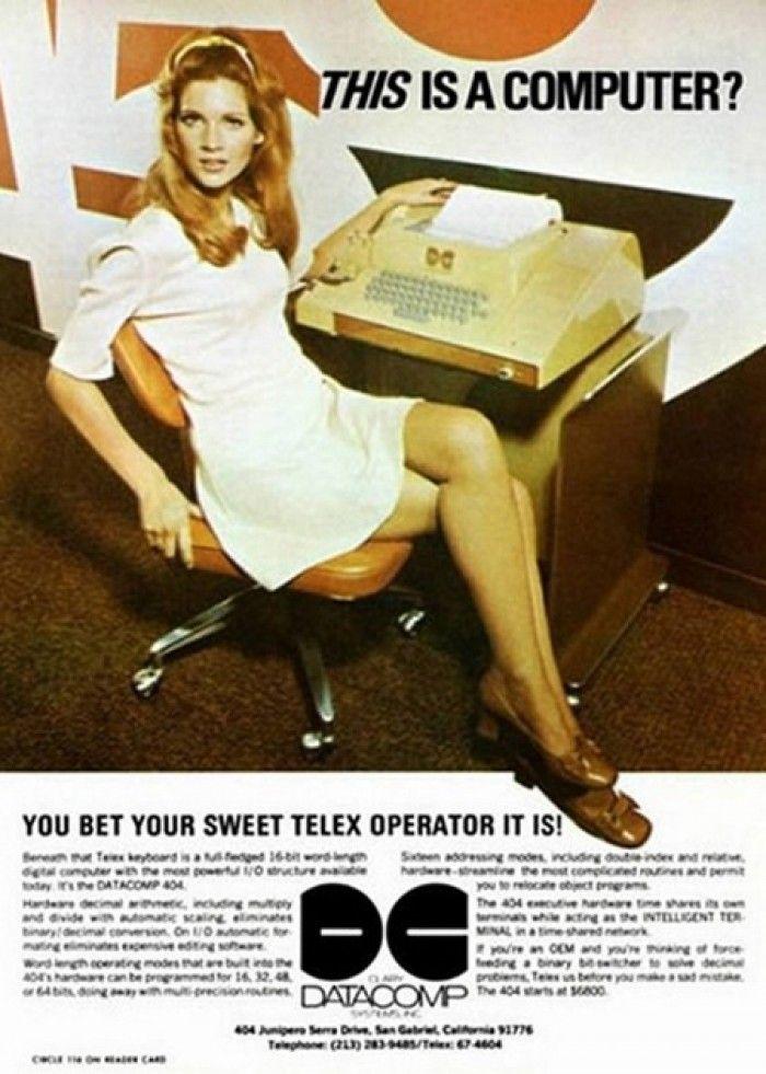 Anuncios Vintage: Así era la tecnología del futuro en la publicidad del pasado