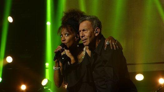 Vidéo François Feldman et Joniece Jamison - Stars 80, 10 ans déjà !  au Phare à Chambéry le Vendredi 11 novembre 2016  #stars80