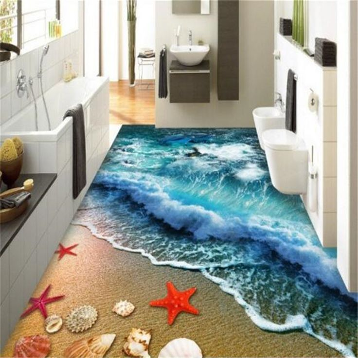 3d Wall Stickers Bathroom