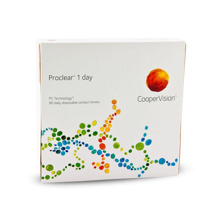 Proclear 1 day Cooper Vision fra Lensstore. Om denne nettbutikken: http://nettbutikknytt.no/lensstore/