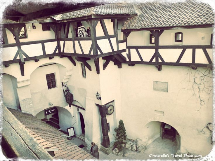 Courtyard of Bran Castle