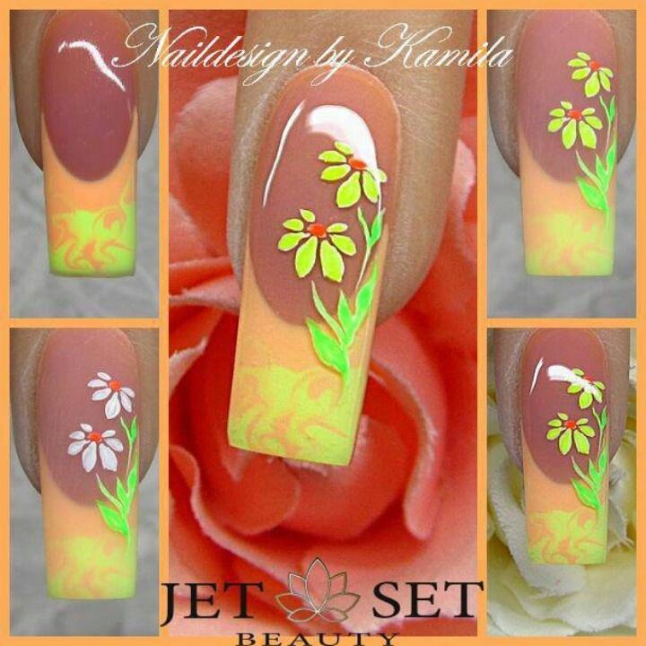 Nail art by KamilaNails Art, Whairi Nails, Beautiful Nails, Nails Design, Nail, Uñas Linda, Strokes Nails, Nails Tutorials, Tutorials Nails