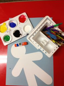 Therapeutic art- Painting your body in feelings (for elementary-middle school developmental levels)