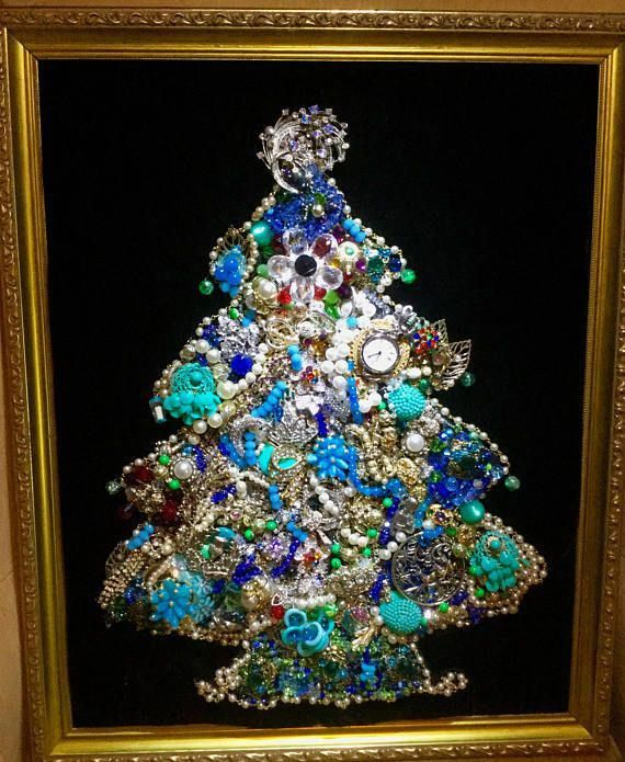 Jewellery Labels Artificial Jewellery Shop Near Me Antiquecostumejewelrybrooches Antiqu Jewelry Christmas Tree Vintage Jewelry Crafts Jeweled Christmas Trees
