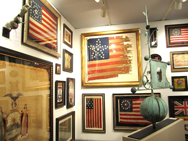 classic • casual • home: Decorating with Vintage Flags