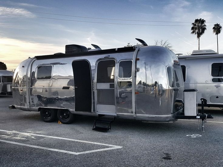 1972 Vintage Airstream Tiny House - for sale on the Tiny House Marketplace. It was our dream to have a vintage Airstream, we bought Druki about 6 months ago