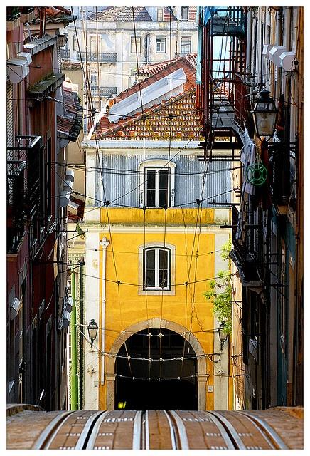Elevador da Bica   Lisbon, Portugal