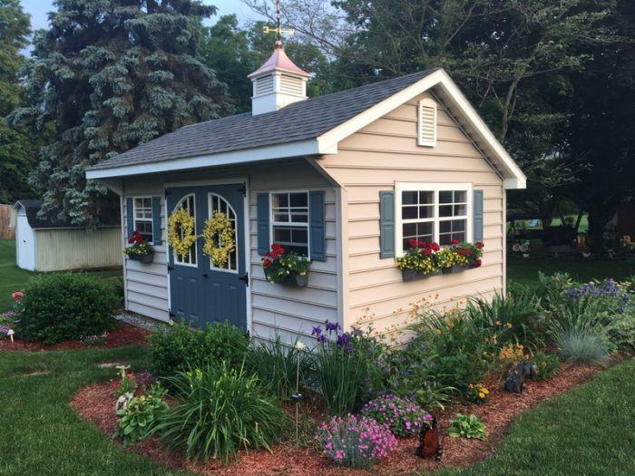 Nj Amish Shed Pa Custom Garage Amp Designer Buildings
