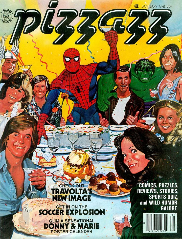 An Ode to the 1970s Marvel Kids Magazine PIZZAZZ