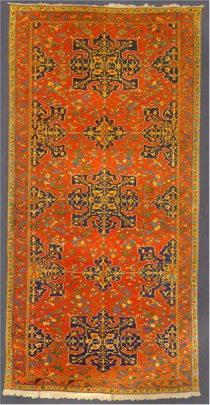 Antique Oushak Rugs: Star Ushak Carpet 16th Century