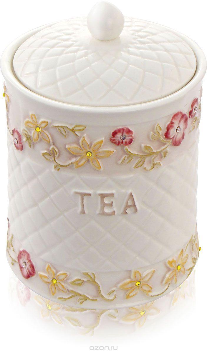 Купить Teabreeze Европейская коллекция Земляника со сливками чай ароматизированный в керамической чайнице, 100 г в интернет-магазине OZON.ru