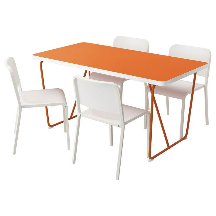 melltorp table 4 chaises 3