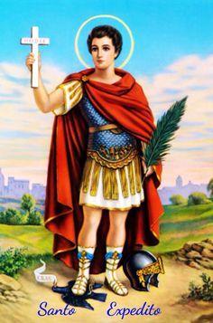 19 de Abril - Dia de Santo Expedito Clique na imagem e acesse a oração.