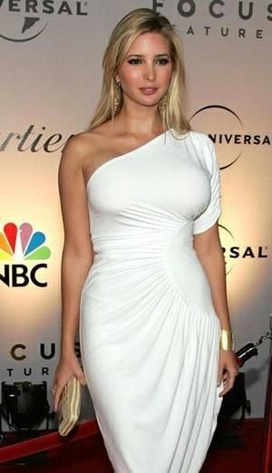 Ivanka Trump in One Shoulder D... is listed (or ranked) 8 on the list Hottest Ivanka Trump Photos