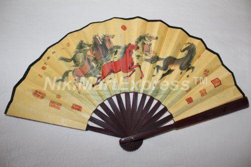 290 best Decorative Folding Fans images on Pinterest | Hand fans ...