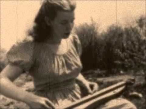 "Jean Ritchie sings ""Barbry Allen"" a traditional Appalachian version of an old English folk song.  It is a compelling story of unrequited love -- a popular theme throughout history in song and verse."