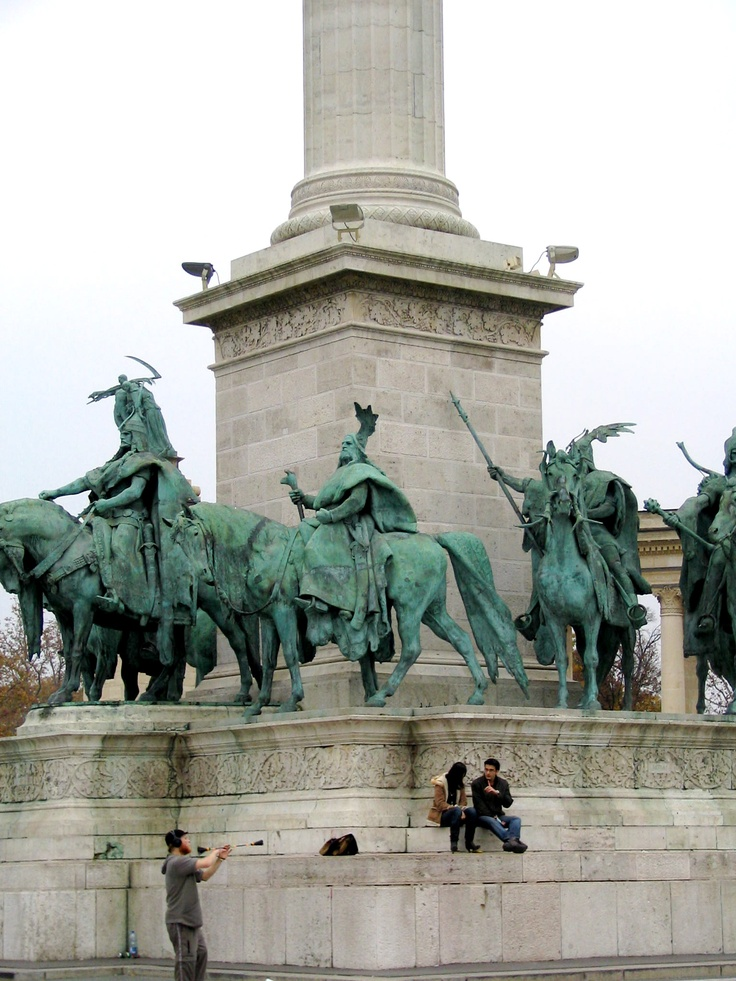 The Heroes Square - Budapest