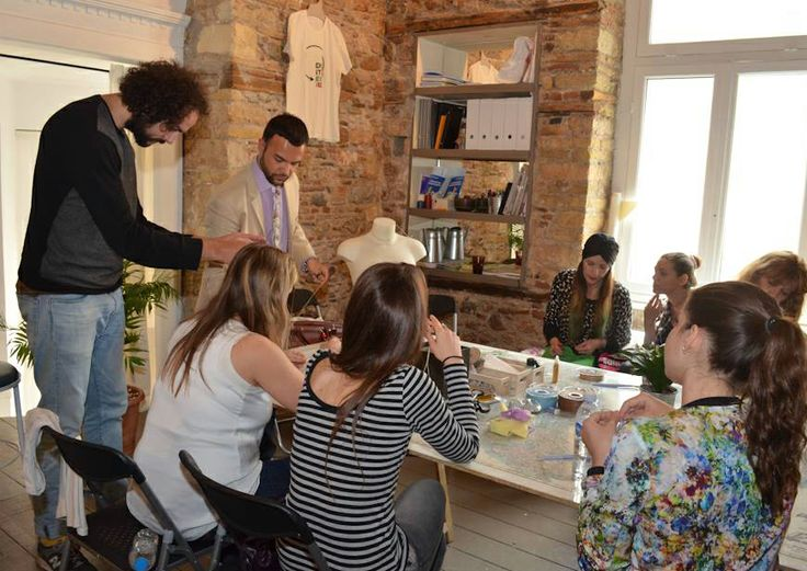 """DoitYourself Workshop"" Vol.1 powered by DoitEco Project @ IMPACT HUB Organized by Nopi Romanidou & Maria Perou @ Saturday 3rd of May Designers: Orsalia Parthenis, Pericles Kondylatos Vivianna Maraveya, and Konstantinos Mitrovgenis  Make up tips: Freddy Kalobratsos and the Freddy Makeup Stage Photography : George-Kwnstantinos Malekakis Presentation: Elena Gerarhaki Credits (photos): Marlena Teresa Strzyzewska Location: The Hub – Athens (Karaiskaki 28, 10554 Athens)"
