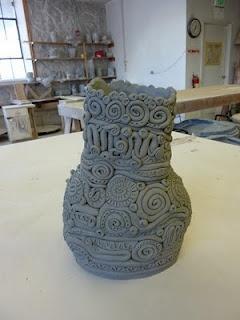 Slab Pottery Plant Pots