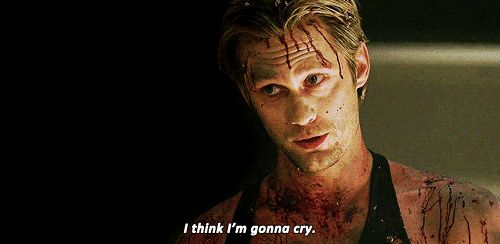 """When he almost got sentimental. 