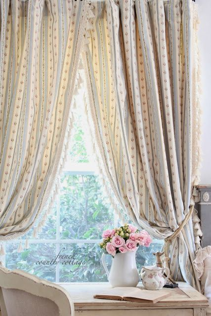 1000+ images about ♥ WINDOW DRESSING ♥ on Pinterest | Linens ...