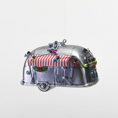 Christmas airstream ornament ho ho ho christmas for Airstream christmas decoration
